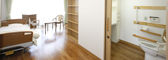 広々14畳のプライベート空間